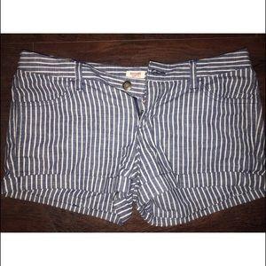 Pin striped Shorts